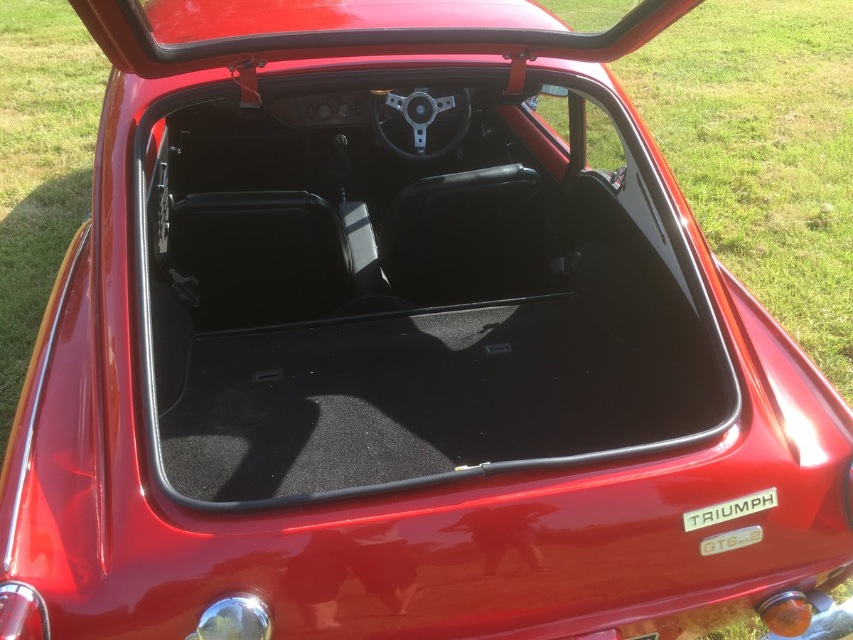 1970 Triumph GT6 Mk2 Restored, improved and rust-free   For Sale (picture 6 of 6)