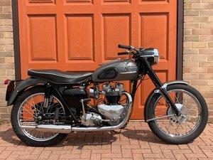 Triumph Thunderbird 1958 650cc Original Classic British Moto