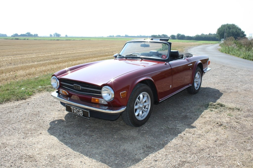 1972 TR6 1973 ORIGINAL UK FUEL INJECTED CAR WITH OVERDRIVE SOLD (picture 1 of 6)