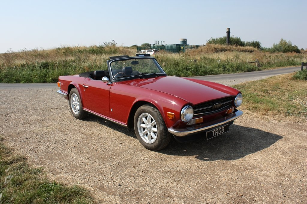 1972 TR6 1973 ORIGINAL UK FUEL INJECTED CAR WITH OVERDRIVE SOLD (picture 4 of 6)
