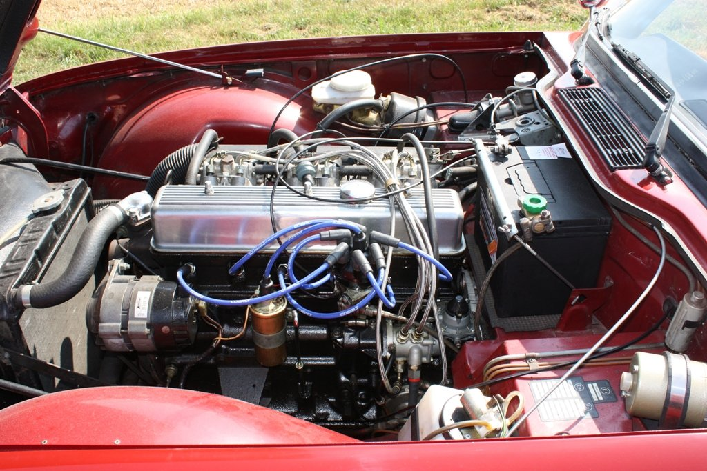 1972 TR6 1973 ORIGINAL UK FUEL INJECTED CAR WITH OVERDRIVE SOLD (picture 6 of 6)
