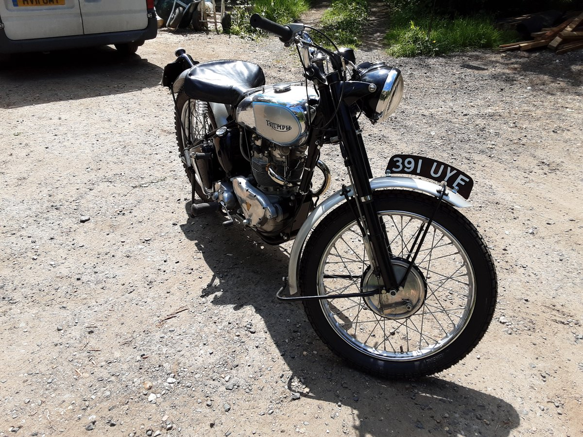 1952 Tr5 triumph trophy 500 For Sale (picture 1 of 6)