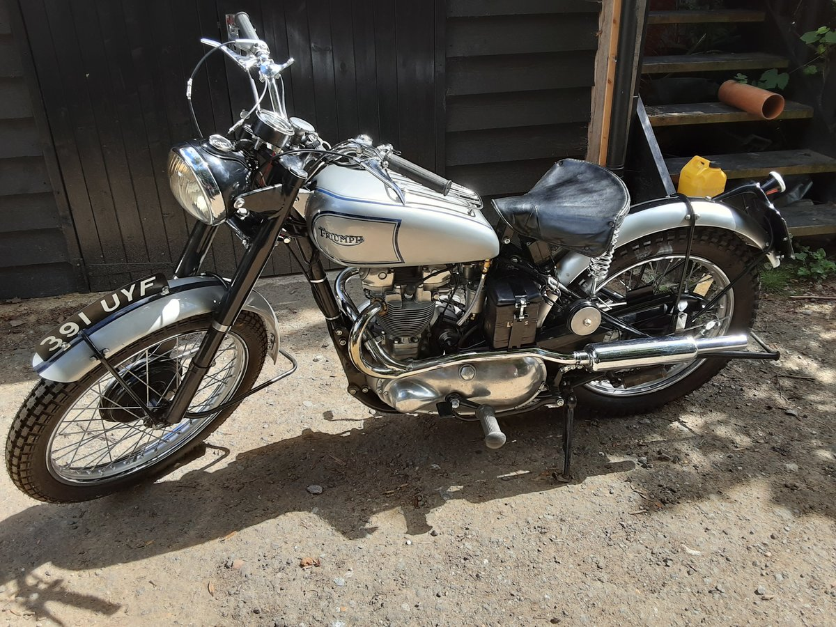 1952 Tr5 triumph trophy 500 For Sale (picture 2 of 6)