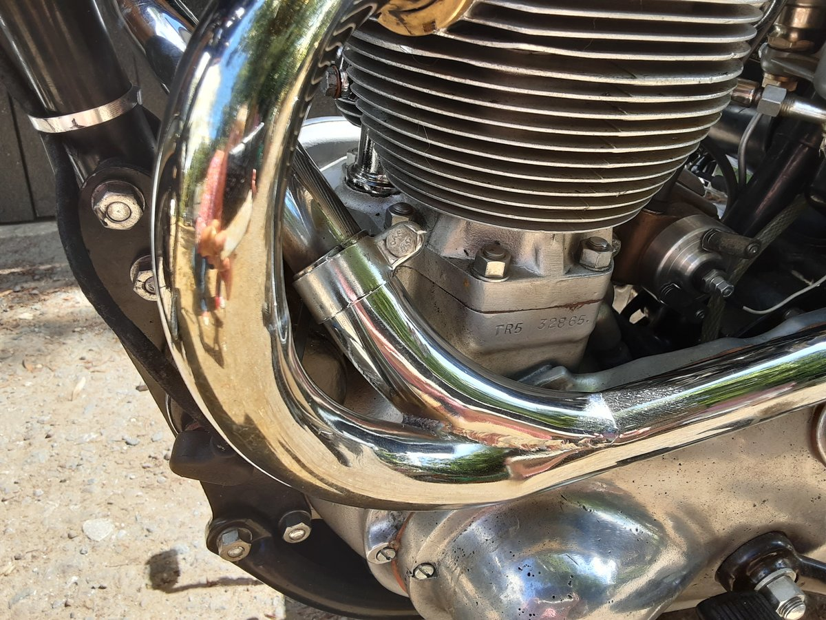 1952 Tr5 triumph trophy 500 For Sale (picture 5 of 6)