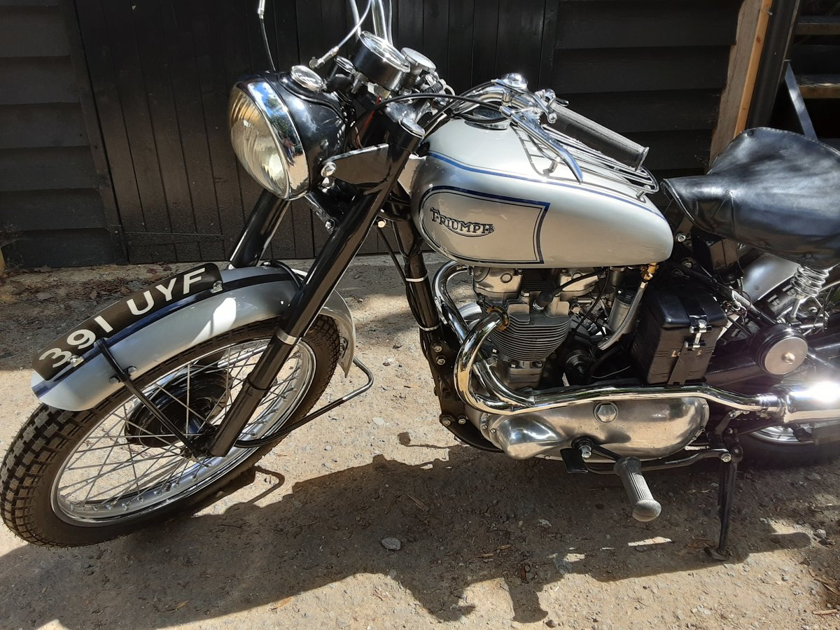 1952 Tr5 triumph trophy 500 For Sale (picture 6 of 6)