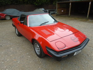 Triumph TR7 convertible, 2 owner low mileage car.