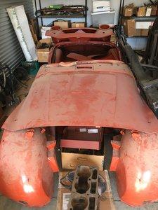 1955 Triumph TR3 project
