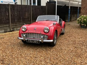 1958 Triumph TR3A LHD at ACA 22nd August For Sale