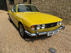 1974 Triumph Stag 3.0 Auto at ACA 22nd August
