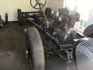 1938 Triumph Dolomite prewar special project