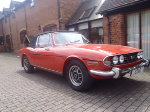 Triumph Stag Mk1 Manual. Restored