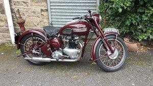 Triumph speedtwin 1949