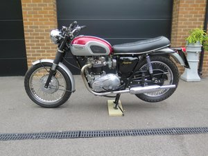 Picture of Lot 248 - 1969 Triumph Trophy - 27/08/2020 SOLD by Auction