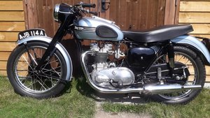 Picture of Lot 262 - 1954 Triumph T100 - 27/08/2020 SOLD by Auction