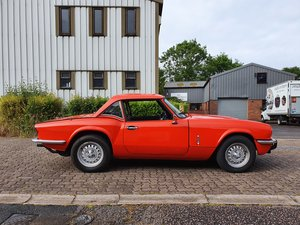 Triumph Spitfire 1500 with overdrive
