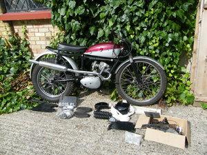 1962 Tiger Cub Trails TR20 original engine/frame/reg no