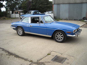 1977 TRIUMPH STAG MK2 AUTO A VERY GENUINE ORIGINAL CAR SOLD