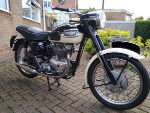 Picture of 1957 Triumph T100 Tiger