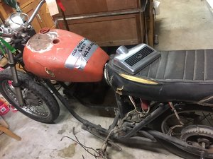 Rescued Triumph T120 V, # matching