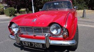 1964 Triumph TR4  RHD