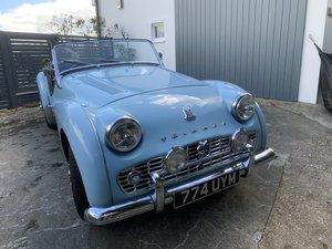 1958 Superb Powder Blue example full rebuild 6000 miles