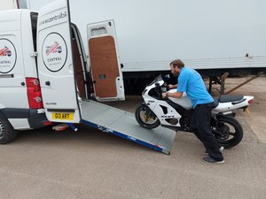Picture of 2020 Midlands Based Motorcycle Collection Delivery Serv