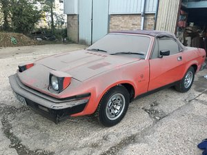 TR7 / TR8 conversion Convertible Barn Find