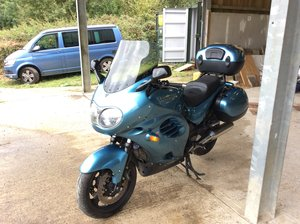 2002 Triumph Trophy 1200 T312 only 19,000 miles