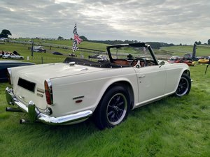 1967 Triumph TR5 with overdrive in show condition