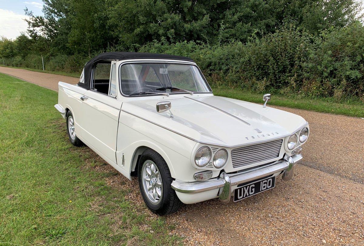 1962 Triumph Vitesse 6 MK1 For Sale (picture 1 of 6)