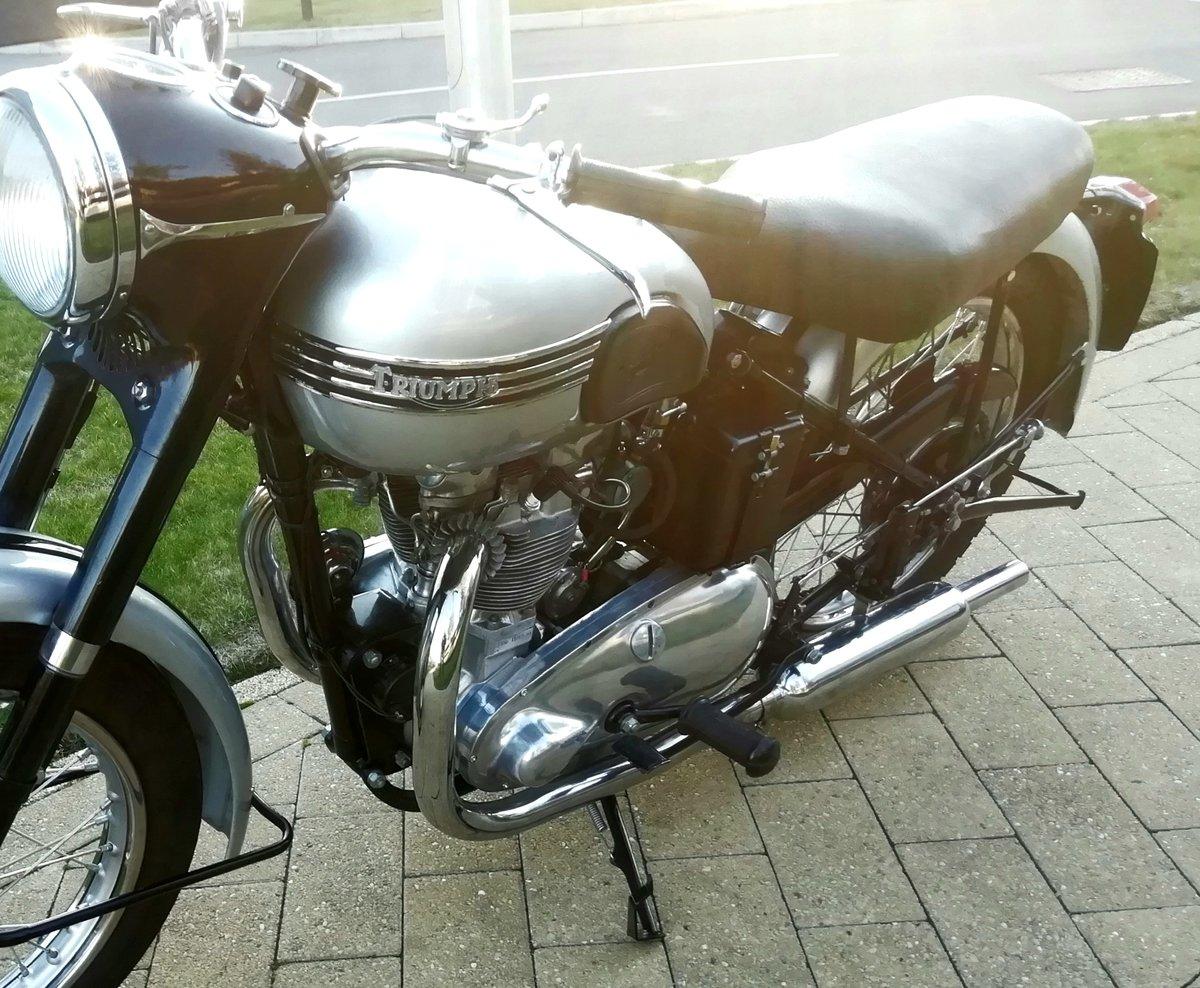 1951 Triumph t100 tiger For Sale (picture 3 of 3)