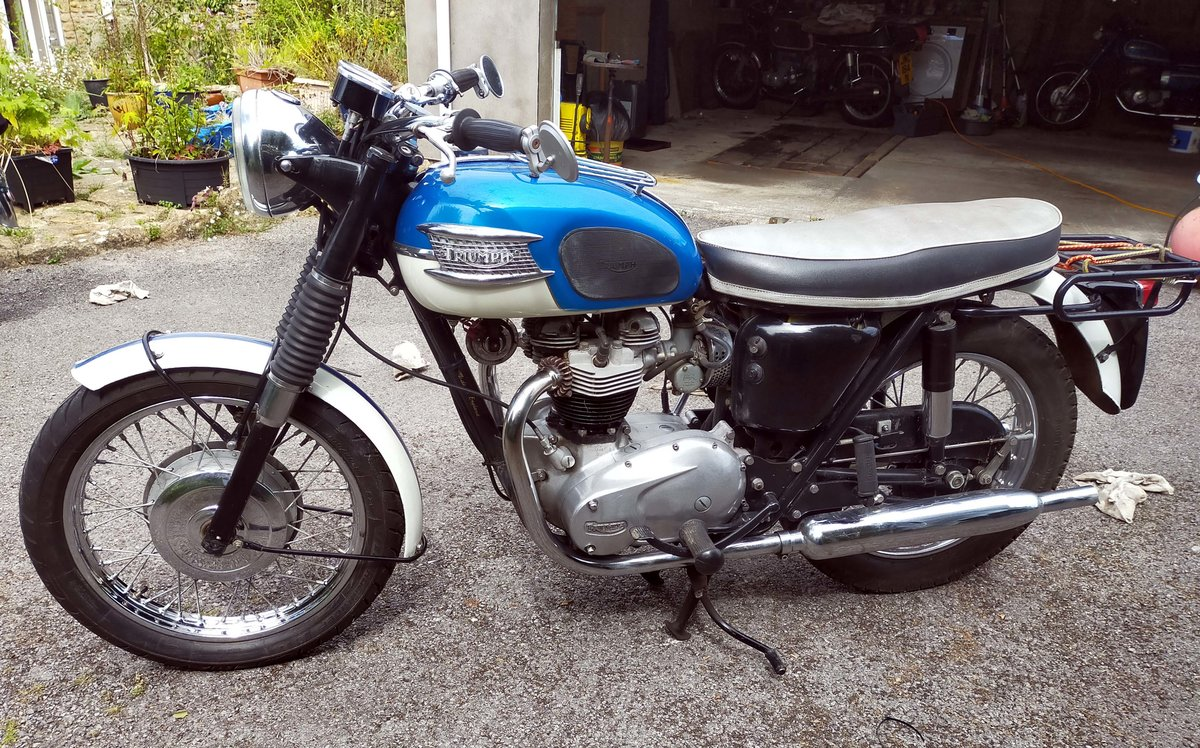 1965 Triumph TR6 Trophy 650cc Twin For Sale (picture 2 of 6)