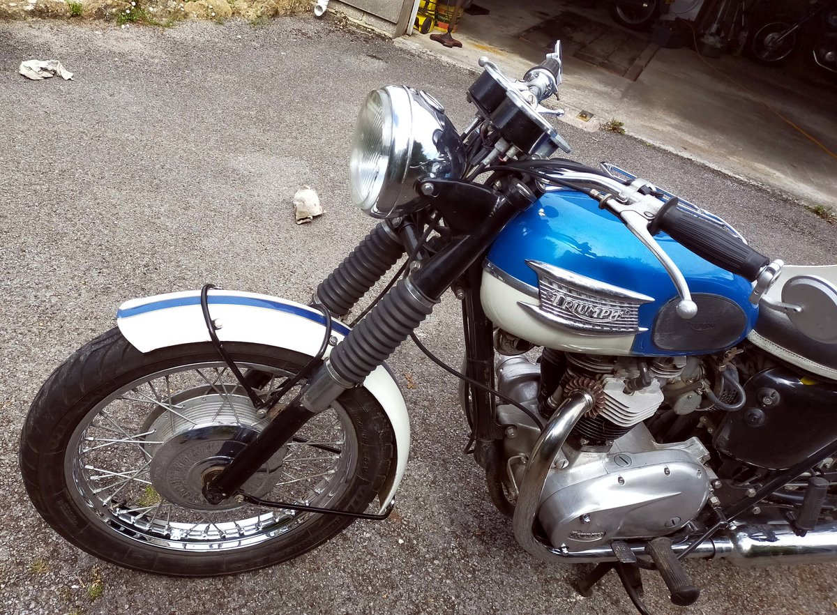 1965 Triumph TR6 Trophy 650cc Twin For Sale (picture 5 of 6)