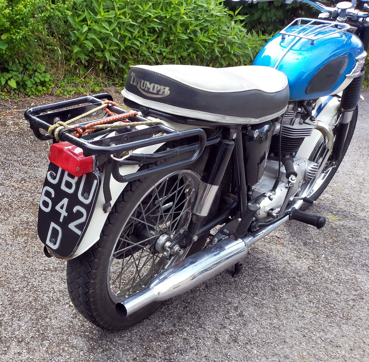 1965 Triumph TR6 Trophy 650cc Twin For Sale (picture 6 of 6)