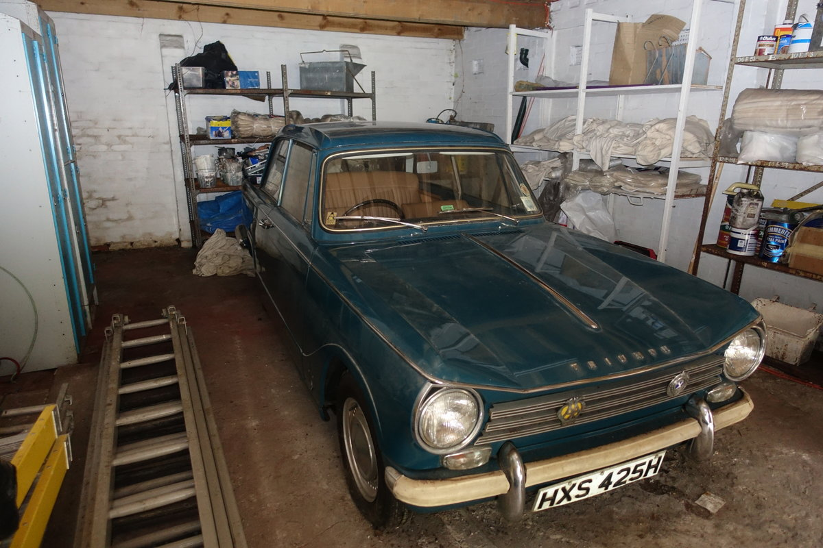 1970 Triumph Herald 13/60 'Barn Find' 14k miles! For Sale (picture 1 of 6)
