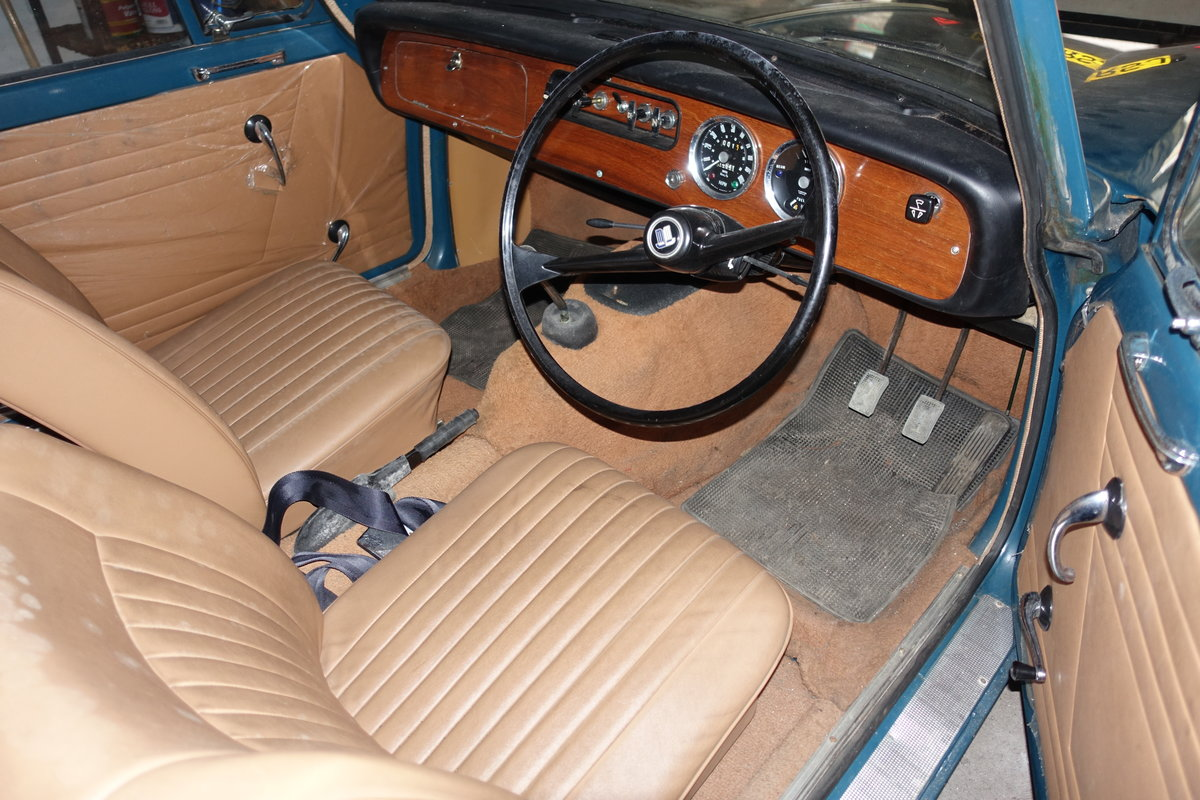 1970 Triumph Herald 13/60 'Barn Find' 14k miles! For Sale (picture 6 of 6)