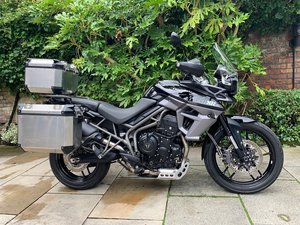 Triumph Tiger 800 XRx Low, With Luggage, Immaculate