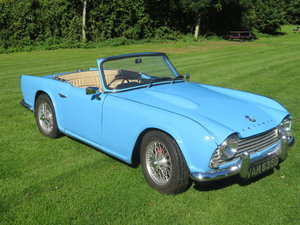 1966 Triumph TR4 with overdrive