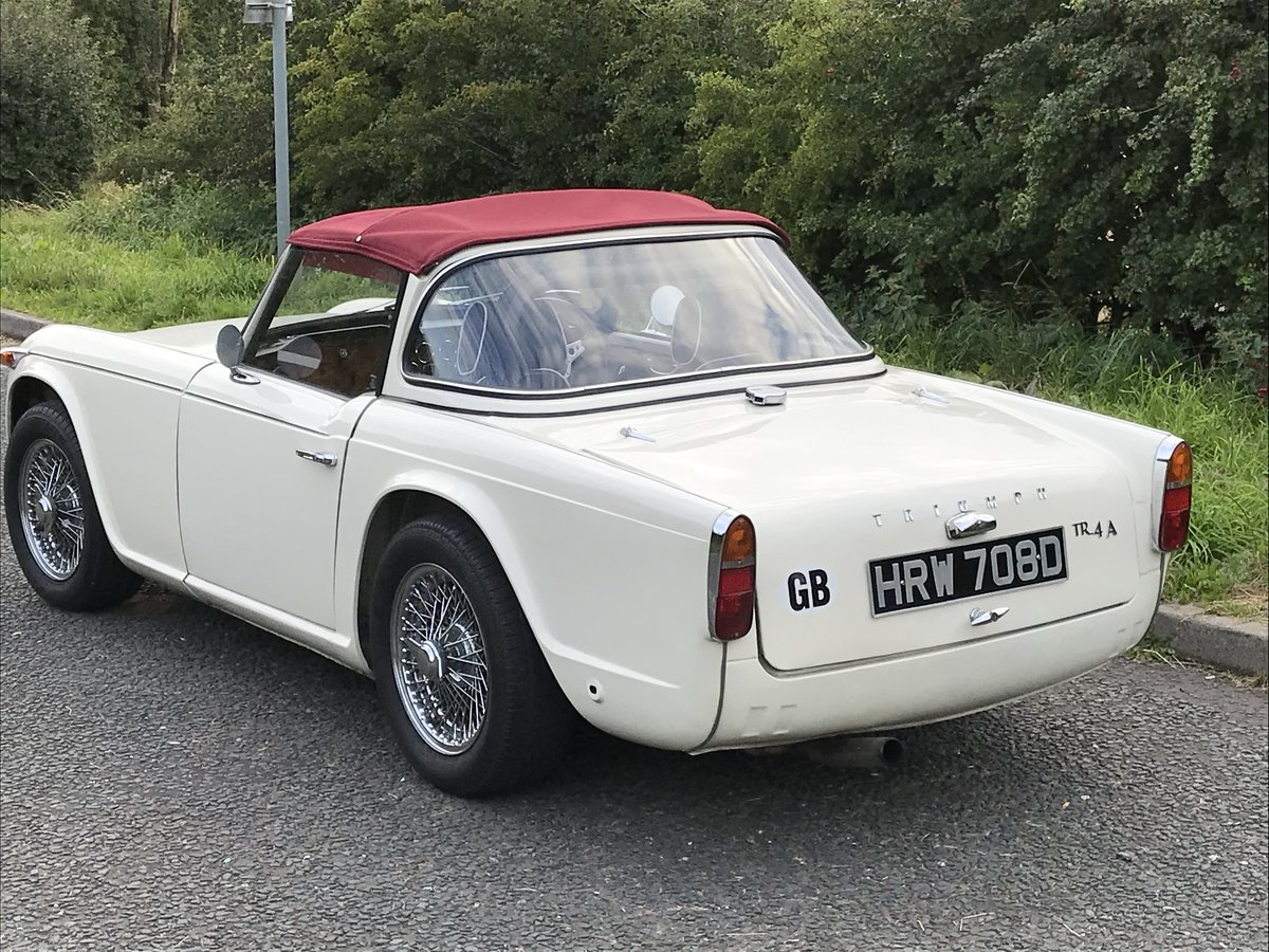 1966 Lovely TR4 A  For Sale (picture 4 of 6)