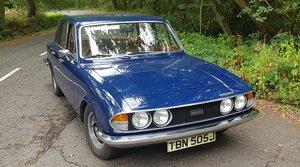 1971 Triumph 2000 Mk2 Saloon Sapphire Blue PAS