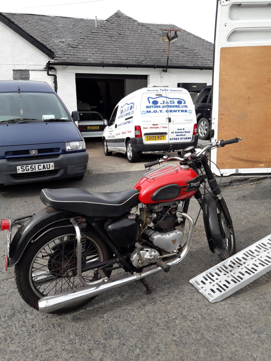 1958 TRIUMPH 6t thunderbird For Sale (picture 5 of 6)