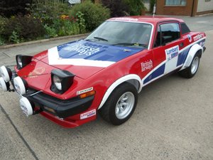 **OCTOBER ENTRY** 1979 Triumph TR7