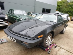 **OCTOBER ENTRY** 1981 Triumph TR7