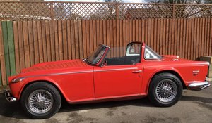 1968  Triumph TR5 for sale by Auction 19th September
