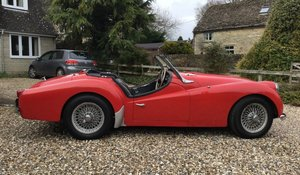 1958 Triumph TR3A for sale by auction 19th September For Sale by Auction