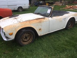Picture of 1968 Triumph TR6 LHD Rust free for Restoration  SOLD