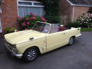 1968 Triumph Vitesse Convertible 2.6 Injection