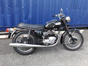 1974 Tiger 100 Police Special motorcycle