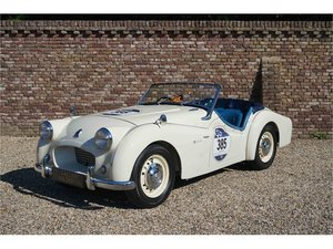 1954 Triumph TR2 Very well maintained, recent Mille Miglia compet