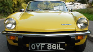 1972 TRIUMPH SPITFIRE MK1V JUST 2 OWNERS 19,319 MILES FROM NEW